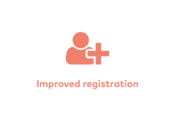 Improved Registration