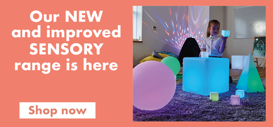 Our NEW and improved sensory range is here